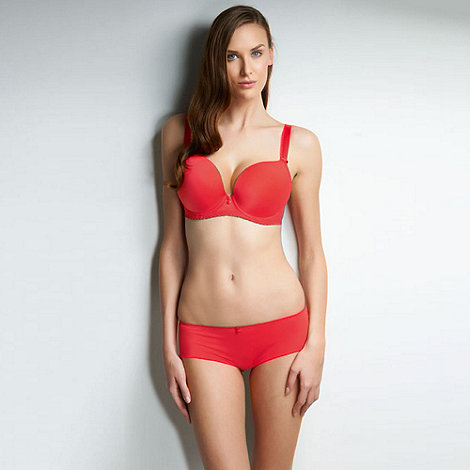 Freya - Red +Deco Honey+ plunge bra