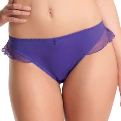 Dark purple Deco Honey briefs