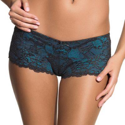Dark turquoise Sienna shorts