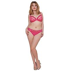 Curvy Kate - Pink 'Cabaret' plunge bra