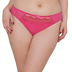 Curvy Kate - Pink 'Cabaret' briefs