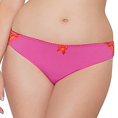 Curvy Kate - Pink 'Smoothie Prowl' Brazilian brief