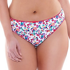 Elomi - Multicoloured 'Danielle' briefs