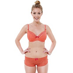 Tutti Rouge - Orange lace 'Liliana' padded bra