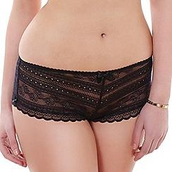 Tutti Rouge - Black lace 'Liliana' shorts