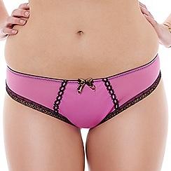 Tutti Rouge - Pink 'Nichole' Brazilian briefs