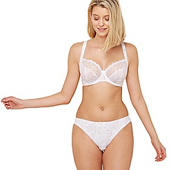 Freya - Natural 'Fearne' underwired non-padded plunge bra