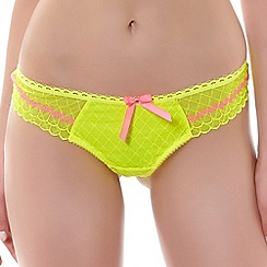 Freya - Yellow 'Pulse' thong