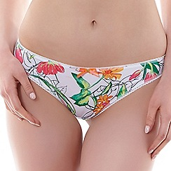 Freya - White 'Utopia' Brazilian brief
