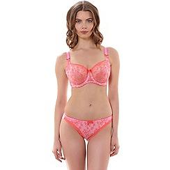Freya - Pink 'Boho' balcony bra