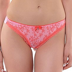 Freya - Pink 'Boho' Brazilian brief