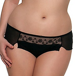 Curvy Kate - Black 'Florence' shorts