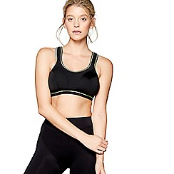 Freya - Black 'Freya' sports bra