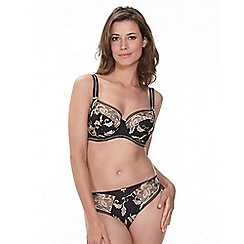 Fantasie - Black 'Sofia' embroidered full cup bra