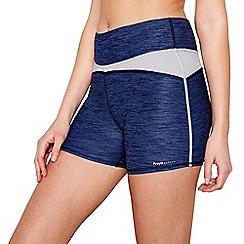 Freya - Navy marl sport shorts