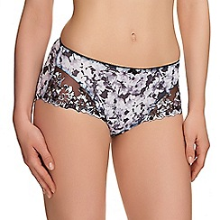 Fantasie - Black floral print 'Abby' shorts