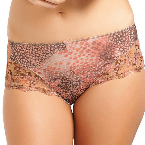 Fantasie - Orange +Nicola+ short