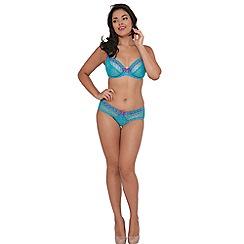 Curvy Kate - Aqua 'Portia' underwired non-padded E+ balcony bra