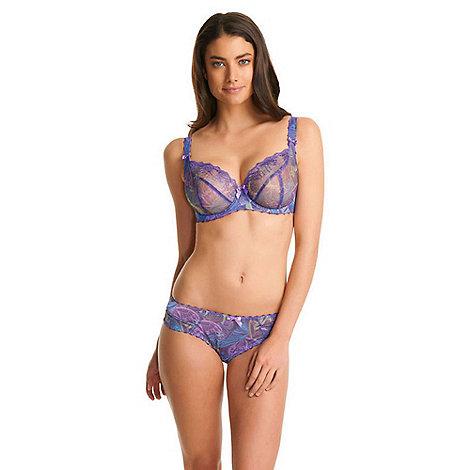 Freya - Purple +Untamed+ plunge balcony bra