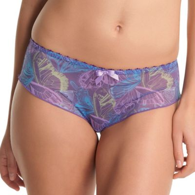 Lilac Untamed butterfly shorts