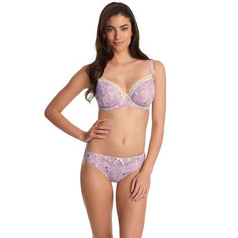 Freya - Purple +Just Flew In+ DD-G plunge bra
