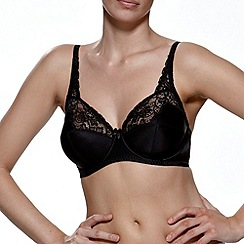 Charnos - Black Superfit full cup bra