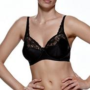 Black Superfit full cup bra