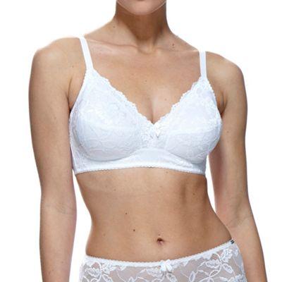 White Rosalind non wire bra