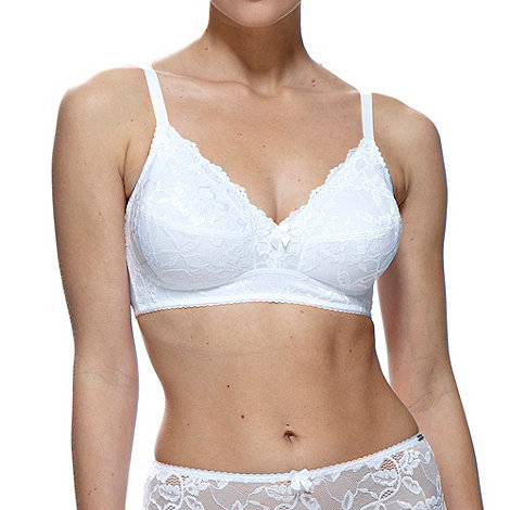 Charnos - White Rosalind non wire bra