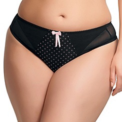 Elomi - Online exclusive black 'betty' briefs