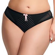 Online exclusive black 'betty' briefs