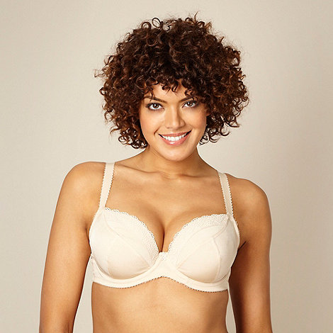 Gorgeous DD+ - Natural non padded three-section t-shirt bra