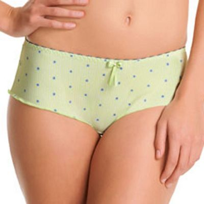 Lime green Morning Meadow shorts