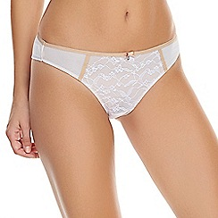 Freya - Natural 'Sassy' Brazilian knickers