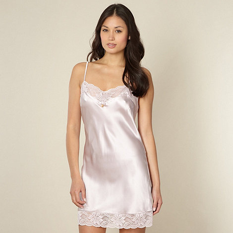 J by Jasper Conran - Designer light pink silk chemise