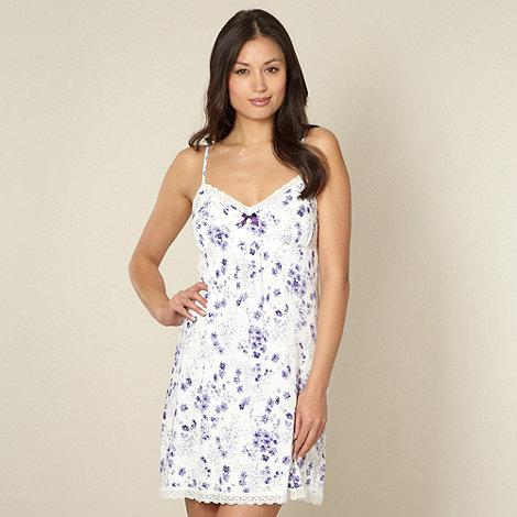 J by Jasper Conran - Designer cream floral chemise