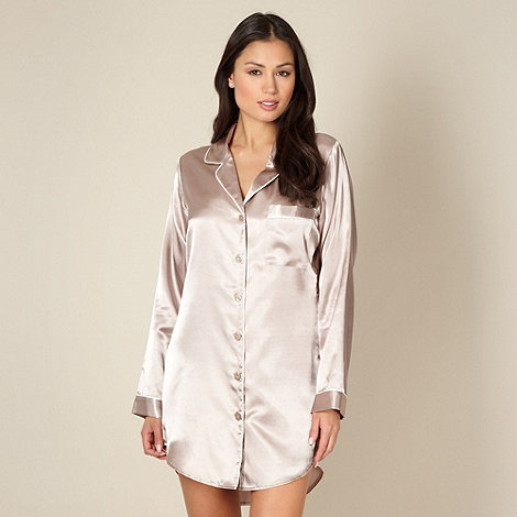 J by Jasper Conran - Designer gold satin nightshirt