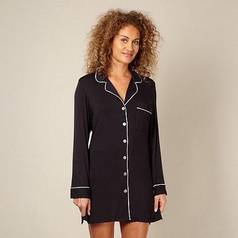 J by Jasper Conran - Designer black jersey nightshirt