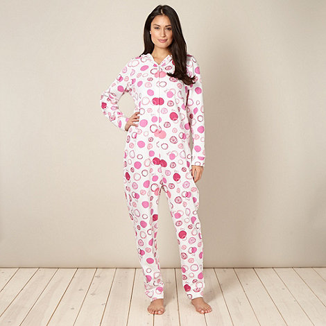 Floozie by Frost French - Pink circles printed onesie