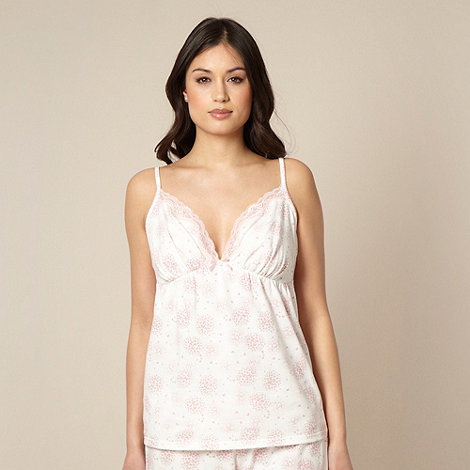 Presence - Cream butterfly print camisole