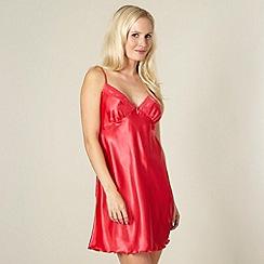 Presence - Red satin chemise