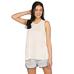 Iris & Edie - Light pink 'Work it' swing tank top
