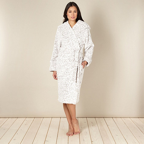 Lounge & Sleep - Pink hooded animal dressing gown