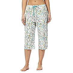 Lounge & Sleep - Multi-coloured printed pyjama bottoms