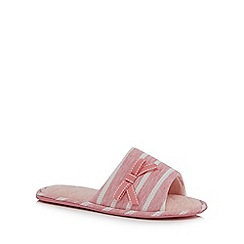 Lounge & Sleep - Pink mule slippers