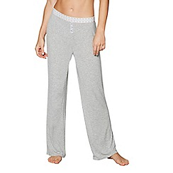J by Jasper Conran - Grey 'Dreamscape' pyjama bottoms