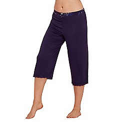 Gorgeous DD+ - Navy 'Frida' pyjama bottoms