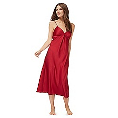 The Collection - Red satin nightdress