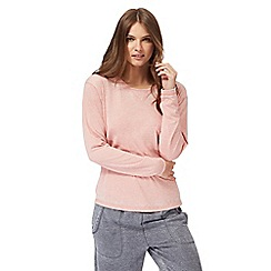 Lounge & Sleep - Light pink long sleeve pyjama top