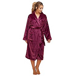 Lounge & Sleep - Purple dressing gown